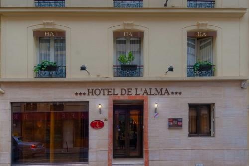 Hôtel de l'Alma - Galleria