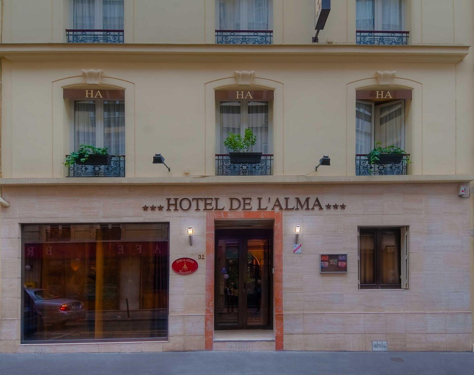 Hôtel de l'Alma - Hotel