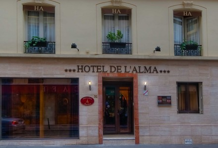 Hôtel de l'Alma - Página inicial