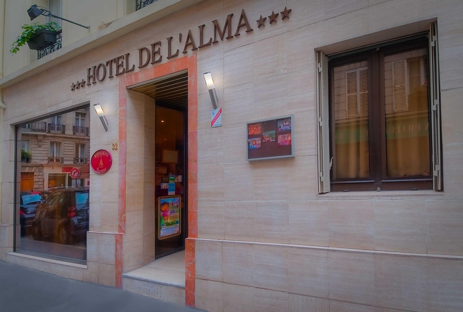 Hôtel de l'Alma - ホテル